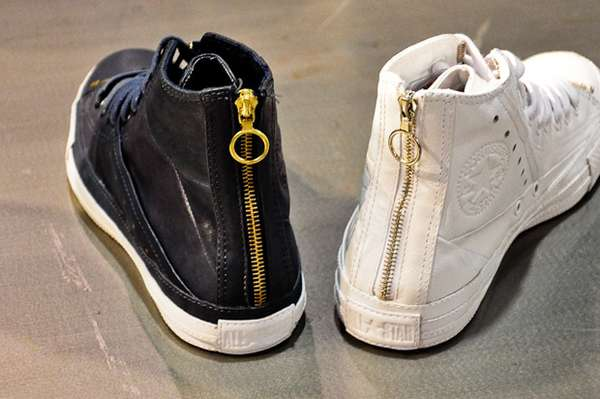 33 Sleek Zippered Shoes