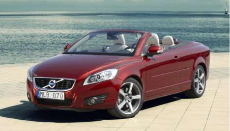 2010 Volvo C70 Convertible Gets Full-Body Makeover