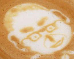 Spiritual Coffee Froth