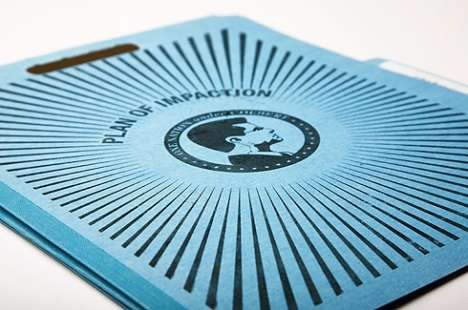 Fauxfficial Media Branding - Spark Brand's 'Colbert Report' Packaging Mimics Official Documents
