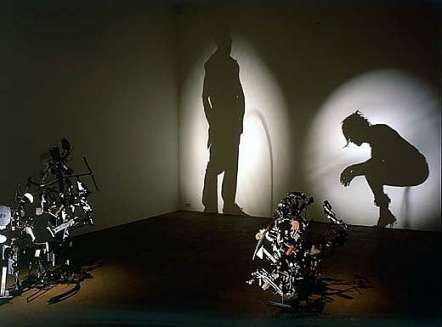 Rubbish Shadow Art