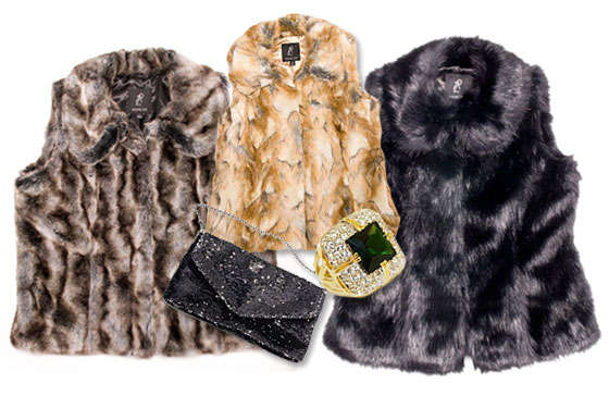 Faux Fur Fashion Lines