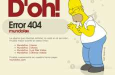 Inventive Error Messages - Websites Make Getting Lost Funny with Original 404 Pages