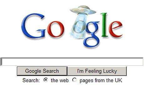 Google's 'Unexplained Phenomenon' Causes UFO Searches