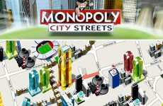 Virtual Boardgame Lands - Hasbro Monopoly City Streets Lets You Play in Real Life