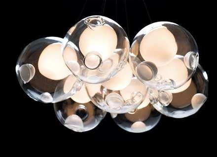 Customizable Glowing Chandeliers