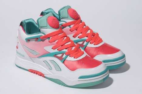TV Themed High Tops - Reebok's Pump Court Victory 2 Miami Vice Shoes Bring the Heat