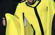 Crayola Capes - Lady Gaga in Marc Jacob's Super Bright Yellow Fall Cape