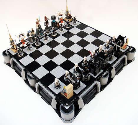 Nerdy Chess Sets - The LEGO Star Wars Chess Set is to Be Played by Dedicated Geeks