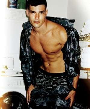 Shirtless Militorials - 'Active Duty' by Mario Testino in VMAN Shows Stylish Man in Unif