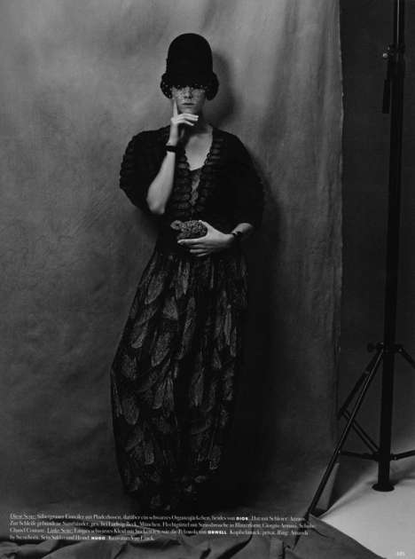 Flapper Fashion Editorials