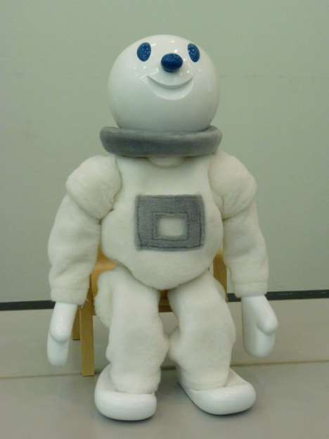 Cute Rehabilitation Robots - Taizou Offers Beneficial Exercises While Keeping a Smile on His Face
