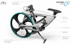 Mollusk-Shaped Bikes - Hideki Kawata Creates Sea Snail-Inspired Folding Bike