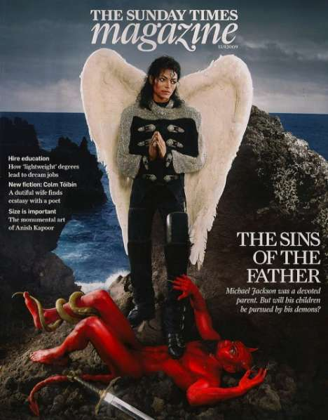 Dead Icons as Martyrs - Michael Jackson Portrait by David LaChapelle