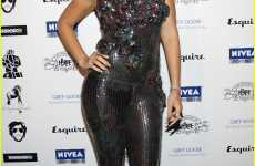 Sequined Jumpsuits - Rihanna Dazzles at the House of Hype Directors Dinner