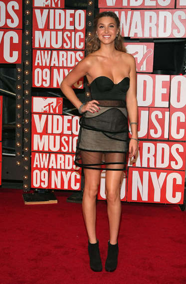 Mosquito Screen Fashion - See-Through, Sheer Dresses at the 2009 MTV Music Awards