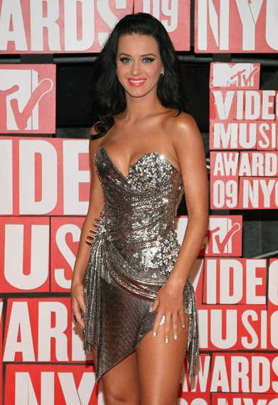 Disco Ball Fashion - Sequined & Metallic Minis on the MTV Music Awards Red Carpet