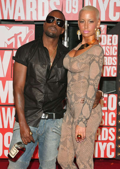 Snakeskin Catsuits - Amber Rose's Slinky MTV Music Awards Red Carpet Fashion