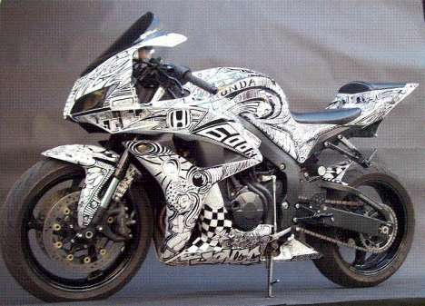 Markered Motorcycles