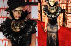 Black Crow Dresses - Kermit Croaks Over Lady Gaga's VMA Outfit