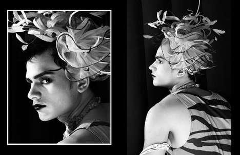 Frilly Male Headdresses