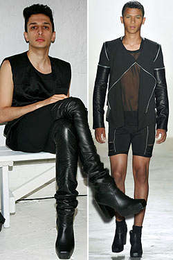 Man-Friendly Heels - Rod Hourani's Man Heels Cross Gender Lines for Spring