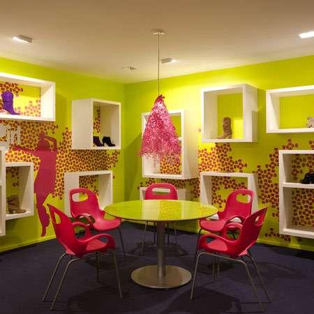 Surreal Shoe Showrooms