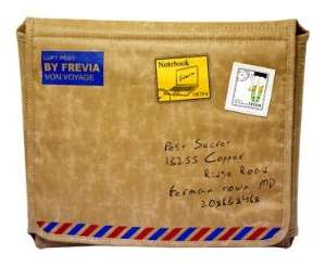 Vintage Mail Laptop Bags - MacBook Postage Sleeve Keeps Your Tech Gear Beautiful