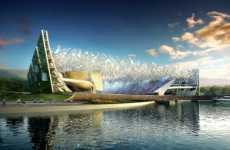 Sustainable Soccer Gardens - NBBJ'S Eco-Friendly Proposal for the New Dalian Shide Stadium