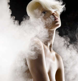 Visionary Vapography - Marc Philbert Smokes Up the Fashion & Beauty Scene