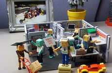 "LEGO Cubicles - Mini Office Playset Lets You Scream, ""LEGO My Stapler!"""