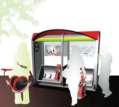 Rent-a-Bike Bus Hubs