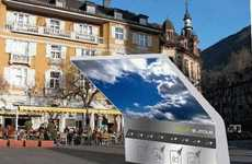 Convenient Solar Fuel Stations - Denmark Houses First E-Move Charging Station