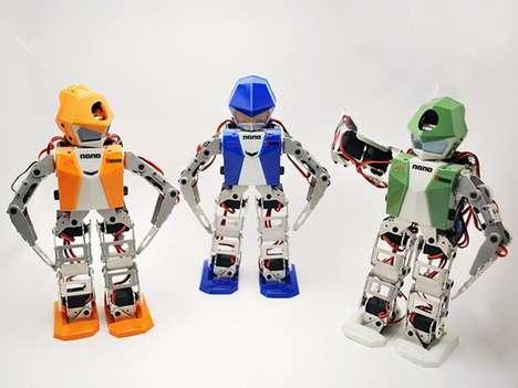 Tiny Cartwheeling Robots