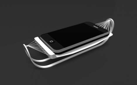 iPhone Beds - Let Your Baby Charge & Relax in Style With the iHammock
