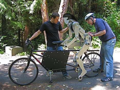 Robotic Bike Buddies - Never Ride Alone With Joules, the Tandem Bike Partner