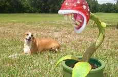 Life-Sized Piranha Plants