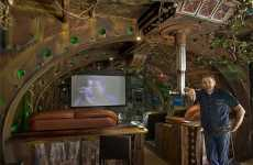 DIY Submarine Dens - Ship Builder Dean Johnstone Creates Subaquatic Home Theatre Theme