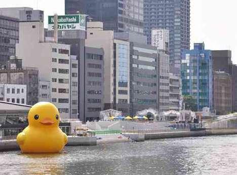 Giant Rubber Duckies