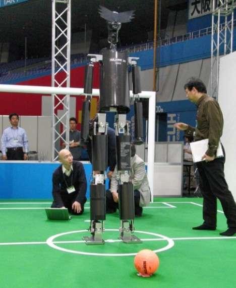 Soccer Robot Fails