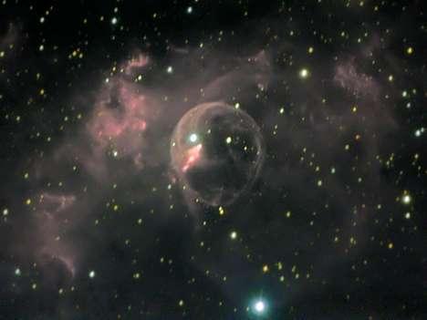 Deep Space Hubble Bubbles