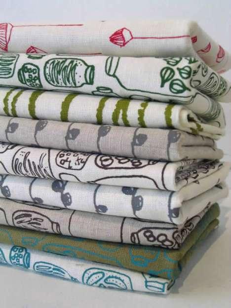 Pretty Hand Printed Textiles