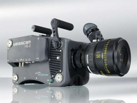 Super Speed Cameras - Weisscam HS-2 High Speed Camera Blows the Doors Off of Video Capture