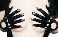 Metal Fingernail Gloves - Dominic Jones' Dark Creations are Hard-Edged Wonders