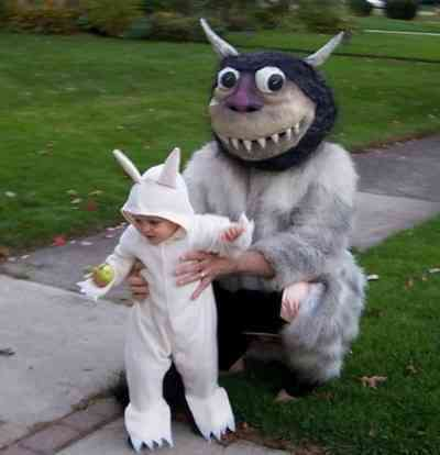 Movie Monster Costumes - Super Cute 'Where the Wild Things Are' Outfits for Halloween
