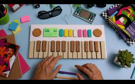 Edible Keyboard Ads