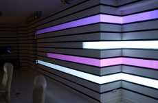 Digital Wallpaper - Projectors & Geometry Mapping Make Any Room a Light Show