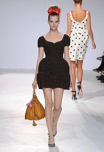 Mod 17th Century Mini-Dresses