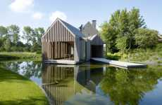 Natural Home Renovations - Belgian House Extension Keeps It Organic and Cutting Edge