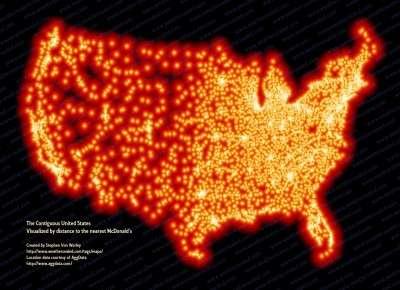 Fast Food Maps